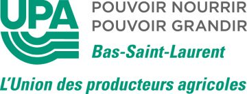 Logo - Fédération de l'UPA Bas-Saint-Laurent